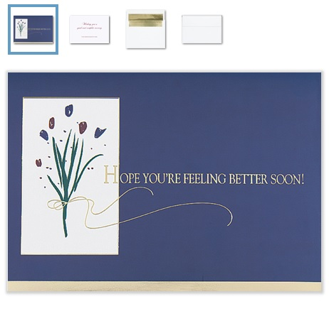 Business Get Well Cards Personalized